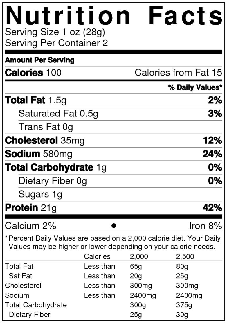 Whole Foods Salmon Nutrition Facts