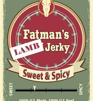 Sweet & Spicy Lamb Jerky