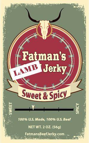 Sweet & Spicy Lamb Jerky