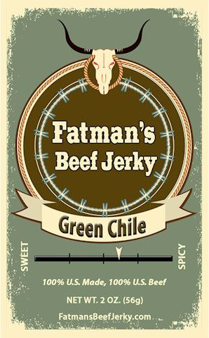Green Chile Beef Jerky