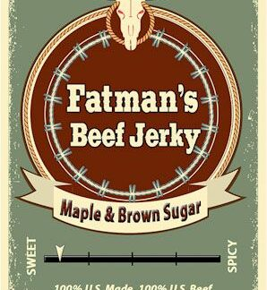 Maple Brown Sugar Beef Jerky