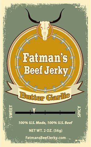 Butter Garlic Beef Jerky